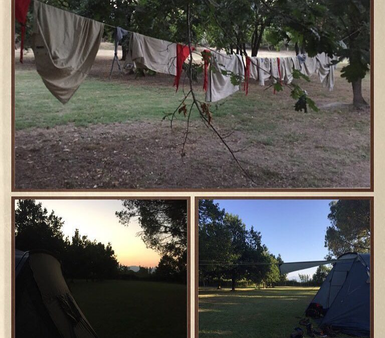 Unser erster Zeltplatz