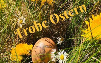 Wir Wünschen Euch und Euren Familien ein schönes Osterfest.