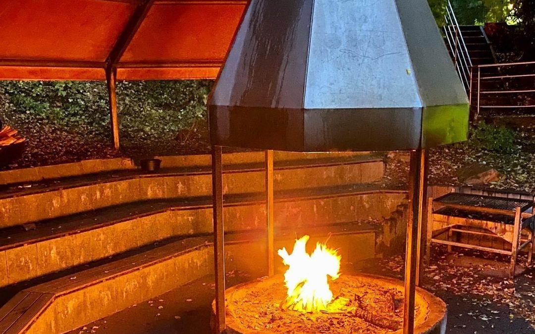 Endlich wieder Lagerfeuer 🔥 da wird die Vorfreude auf unser Herbstlager gleich noch viel größer.